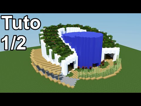 Minecraft tuto maison moderne v g talis e 1 2 by for Minecraft modernes haus download 1 7 2