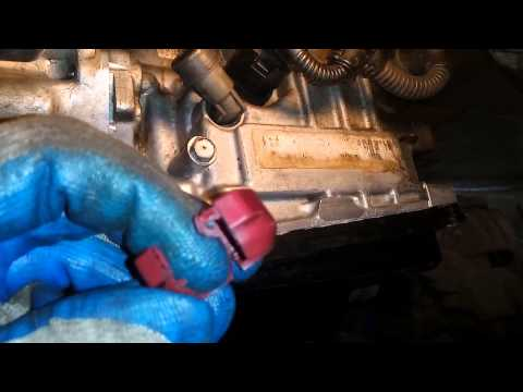 Замена Масла АКПП Audi A3 Changing Automatic Transmission Fluid & Filter On Audi A3