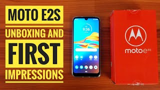Motorola Moto E6s Polished Graphite Unboxing | First Impression | Best low budget smartphone