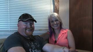 Backstage with Cortni Red Marlow on 30A TV fishin