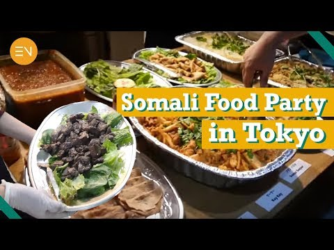 Somali Food Party In Tokyo!