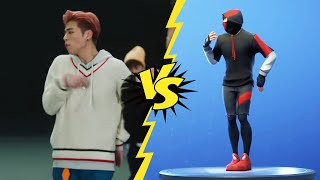!..ALL FORTNITE KPOP DANCES/EMOTES IN REAL LIFE