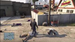 GTA V GANG FIGHT