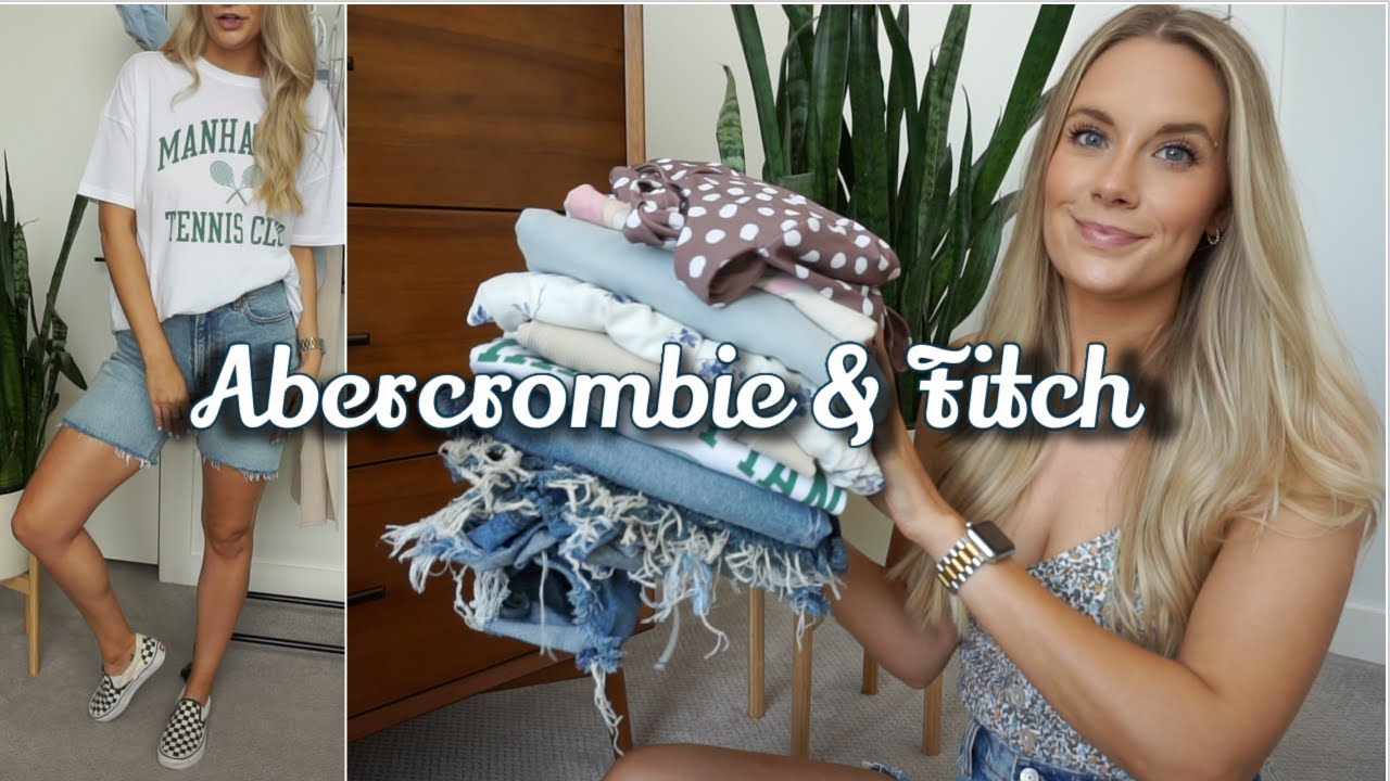 Download ABERCROMBIE & FITCH | SUMMER 2021 TRY-ON HAUL | $600