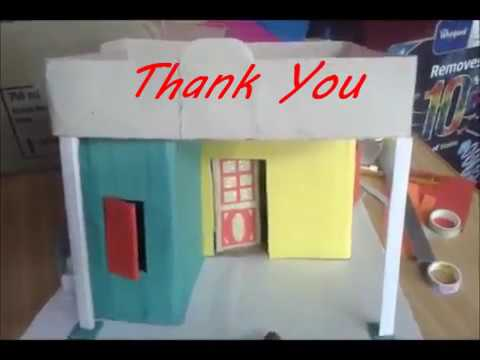 Easy Making Pucca House Model in TAMIL- School project