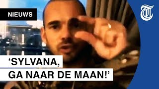 Wesley Sneijder gaat los op Sylvana