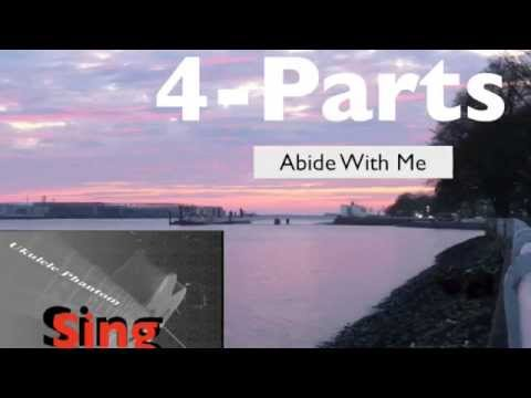 Abide With Me, 4 Part Harmony, Text & Chords verse 1&5 ...