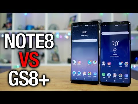 Galaxy Note 8 vs Galaxy S8+: Samsung