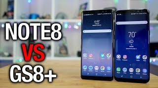 Galaxy Note 8 vs Galaxy S8+  Samsung's Best Phablet?