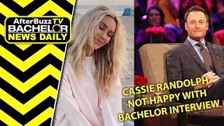 Cassie Randolph Upset w/Chris Harrison Interview on Bachelor: Greatest Seasons Ever!