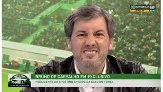 """Bruno de Carvalho: """"William de Carvalho deve a sua carreira a mim!"""""""