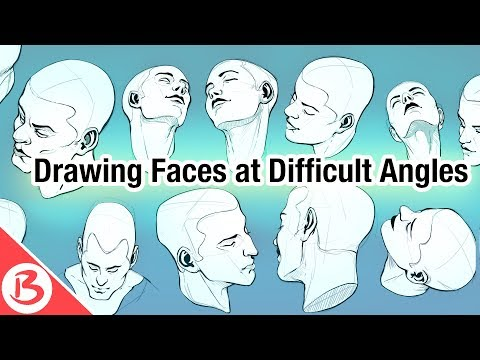 drawing-faces-from-difficult-angles---drawing-tutorial