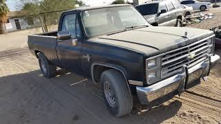 Restoration Project  chevy 85 2018 for sale... se vende..