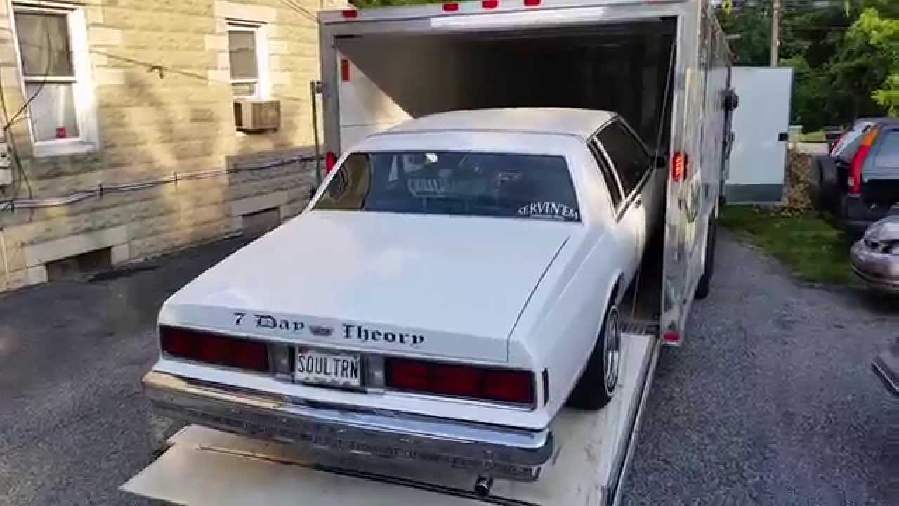 All Chevy chevy caprice 1985 : Loading up 1985 Chevy Caprice lowrider for makeover / Johns R ...