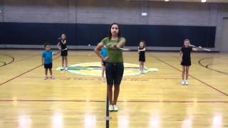 basic skills for baton twirling
