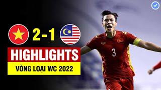 Highlights Việt Nam vs Malaysia   Tiến Linh - Quế Ngọc Hải ghi bàn đẳng cấp - ĐTVN làm nên lịch sử