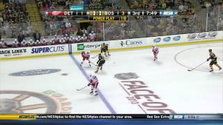 Zdeno Chara PP Goal vs Detroit 10/5/13