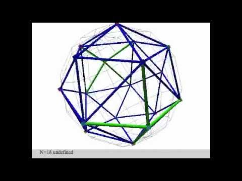 Endless Polyhedron by electron simulation