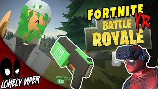 Fortnite... but in VR | Rec Room: Rec Royale | FPS Virtual Reality