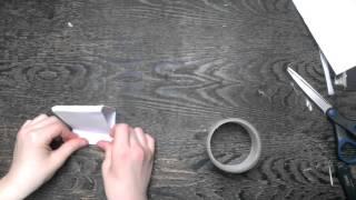 Как сделать подставку для телефона из бумаги.(В этом видео я покажу вам, как сделать подставку для телефона. Для этого нам понадобится лишь бумага и скотч...., 2016-03-22T18:27:04.000Z)