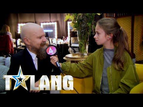 Alexander Bard lurad av fejkreporter i Talang 2018 - Talang (TV4)