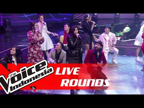 All Contestant Performances   Live Rounds   The Voice Indonesia GTV 2018