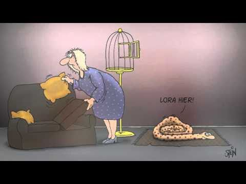 Uli Stein Cartoons Happy Snakes 2011 - YouTube