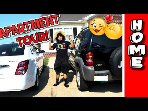 NEW APARTMENT TOUR! | OUR FIRST HOME TOGETHER!