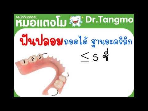 ทำฟันปลอม ก็เบิกประกันสังคมได้ ที่คลินิกหมอแตงโม