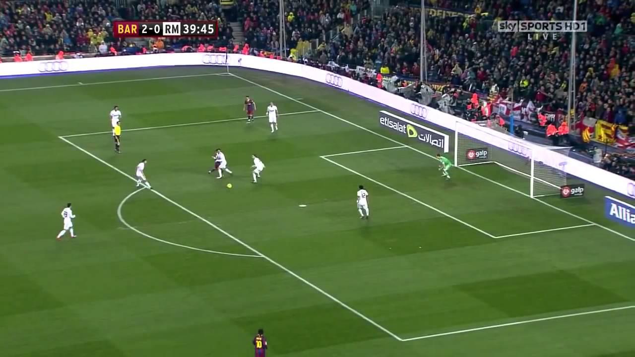 Barcelona Vs Real Madrid (5-0)   29 11 2010 HD