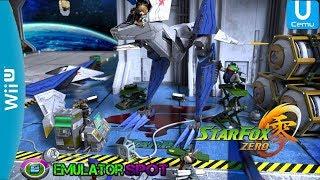 Cemu Emulator 1.12.1: Star Fox Zero Gameplay Nintendo Wii-U (EmulatorSpot)