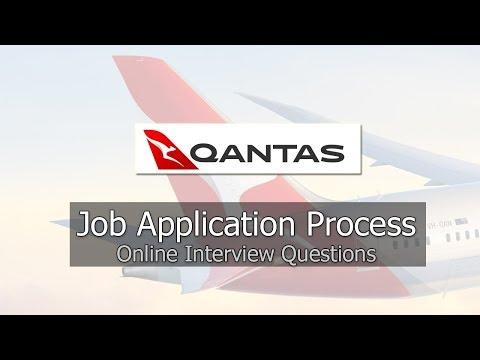 Qantas Job Application Process 2019