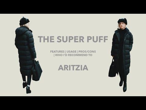 0f8b6cb8d The Super Puff (Long) Tna, Aritzia Review [Gold Zipper] - YouTube