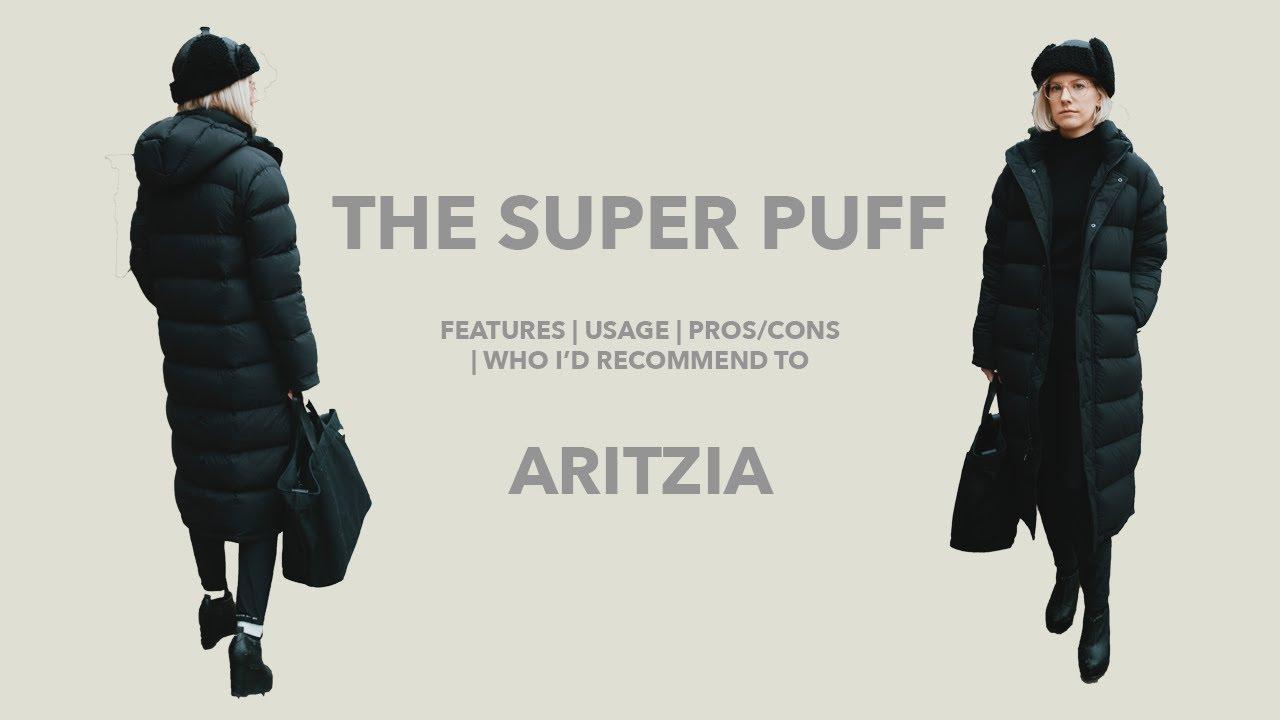 db71ae52e The Super Puff (Long) Tna, Aritzia Review [Gold Zipper]