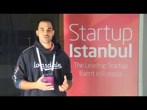 Startup Istanbul 2015 - Alican Vergin (Founder of Makerelay) Interview