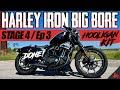 - Harley Iron 883 to 1200 BIG BORE Kit DYNO Tuning! Hooligan Kit Ep 3