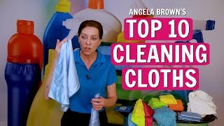 Angela Brown's Top 10 Cleaning Cloths