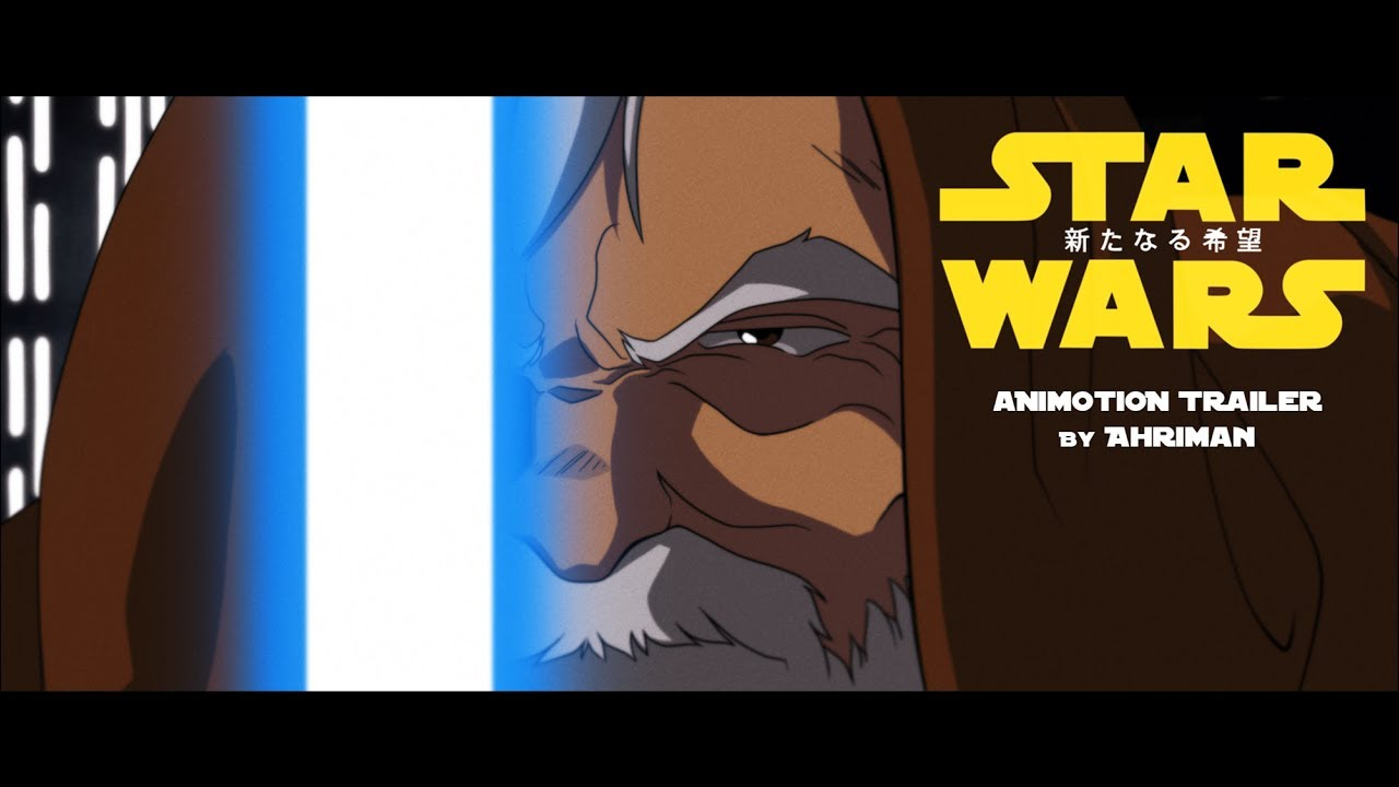 The Original 'Star Wars' as an Anime Film