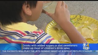 Drinks With Added Sugars Or Diet Sweeteners Make Up Most Of Children's Drink Sales