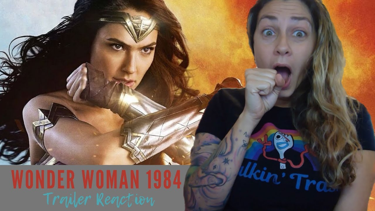 Wonder Woman 1984 Official Trailer Reaction Review Ccxp Youtube