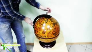видео Настольный глобус-бар