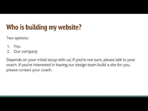 Volusion Training #2: Making a Game Plan to Launch Your Website