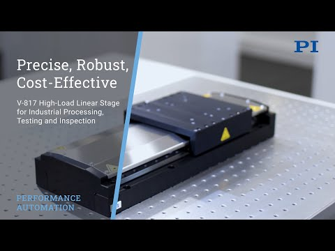 High-Load Linear Stage for Precision Automation in Laser, Electronics, and Semiconductor Industries