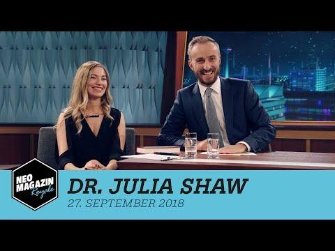 Dr. Julia Shaw zu Gast im Neo Magazin Royale mit Jan Böhmermann - ZDFneo