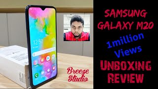 Samsung Galaxy M20 Unboxing and First look Review in Tamil🔥| Best phone under Rs.11000 #SamsungM20