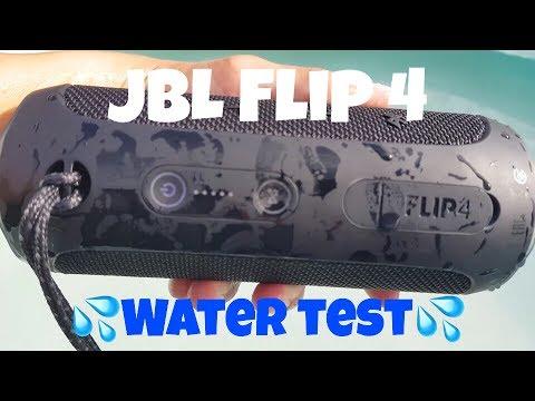 JBL Flip 4 - Water test