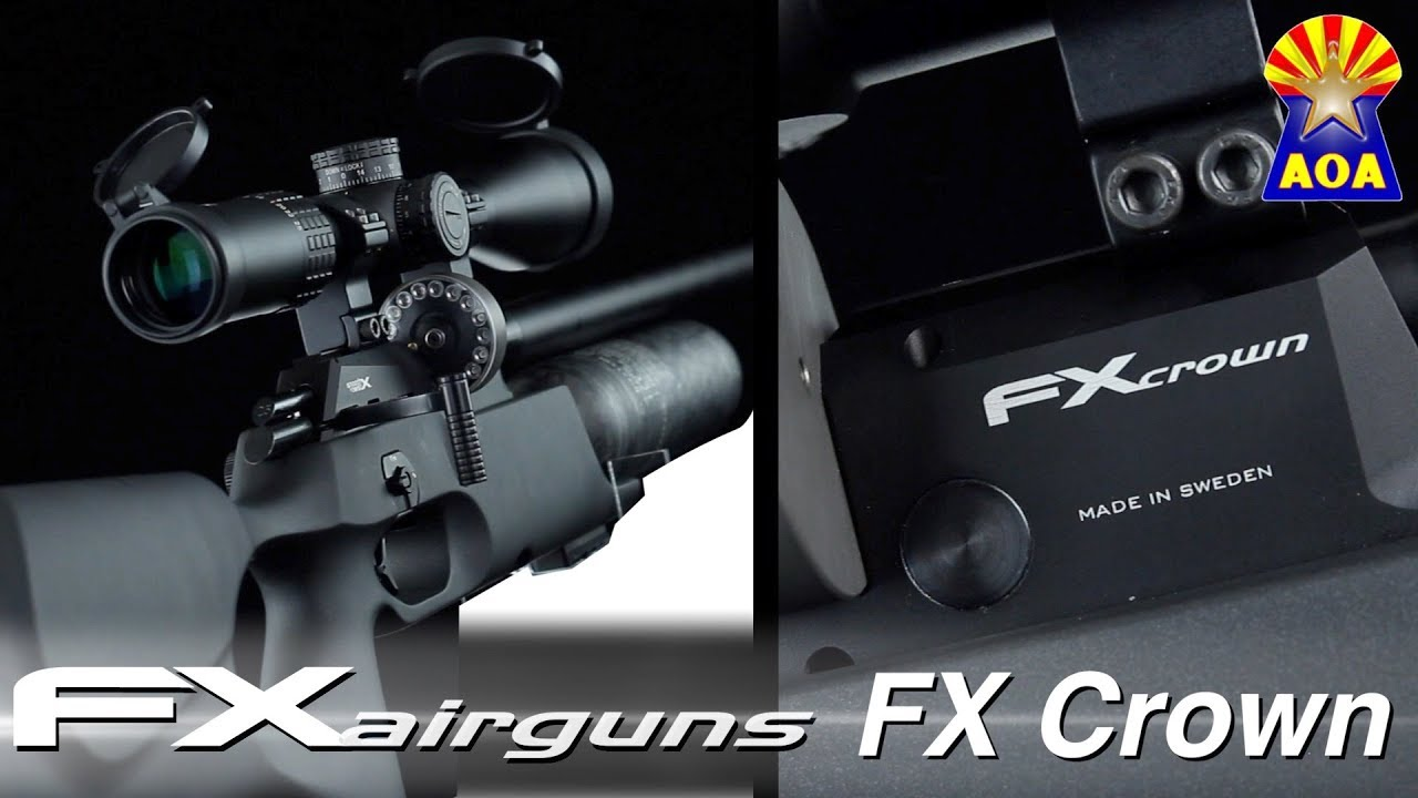 FX Crown Synthetic Airgun Overview