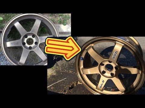 鉄粉まみれのホイールを再生しよう how to remove brake dust