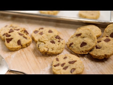 Chocolate Chip + Oatmeal Refrigerator Cookies