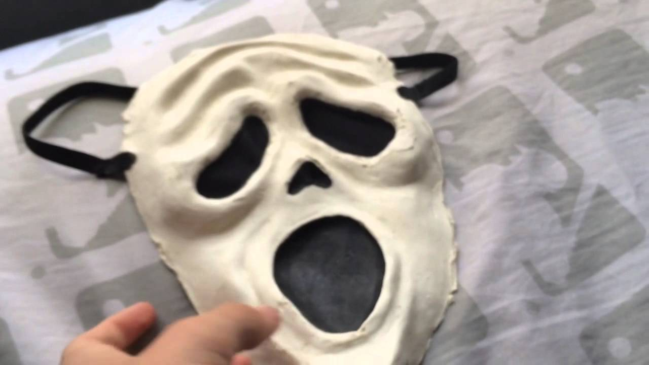custom scary movie spoof mask review youtube